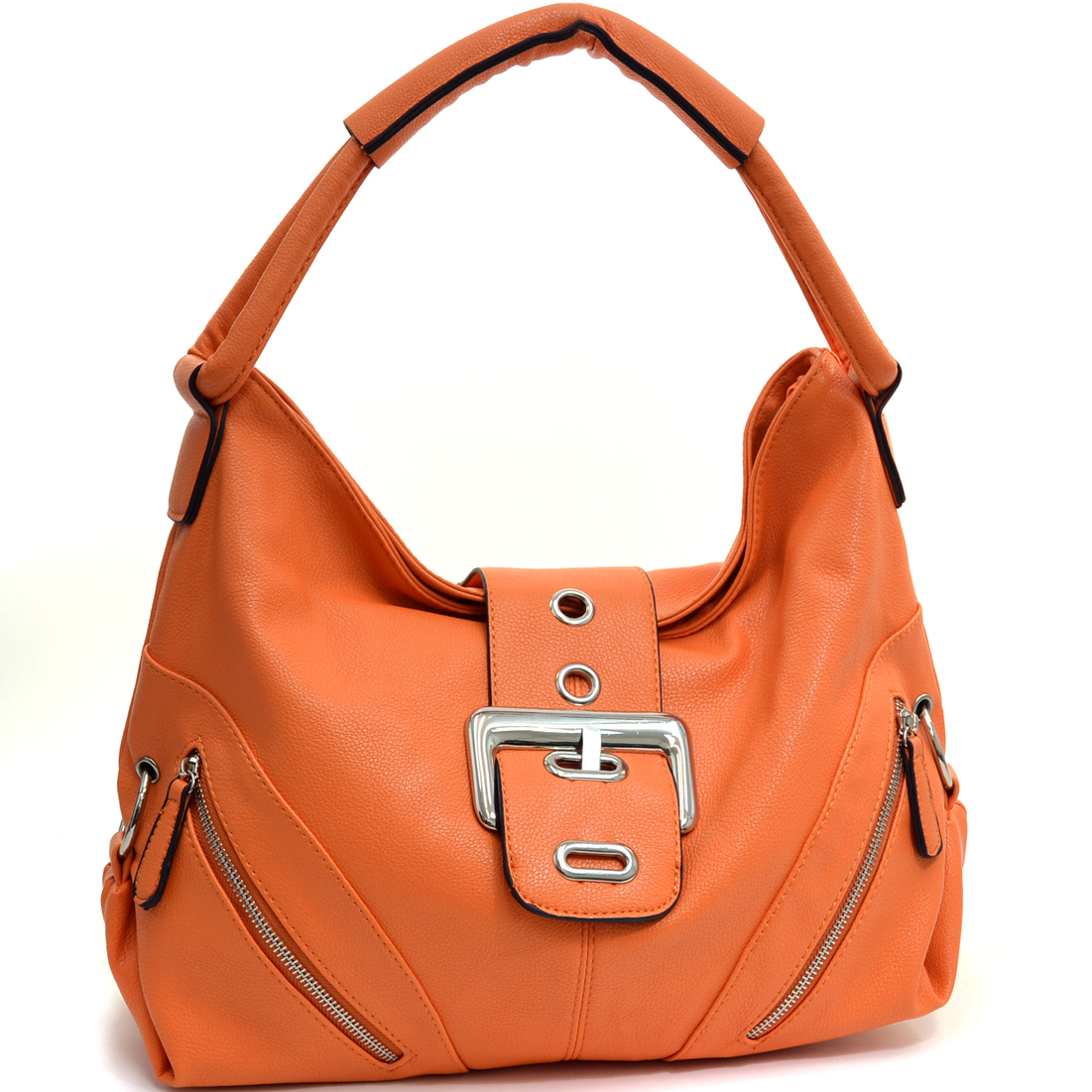Dasein Classic Fashion Hobo With Zippered Pockets at Sears.com