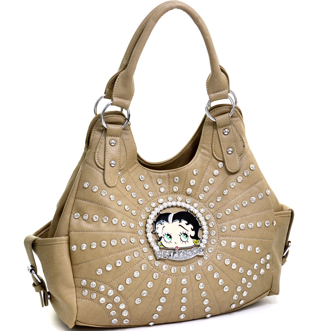 Betty Boop Rhinestone and Multi-Studded Shoulder Bag at Sears.com