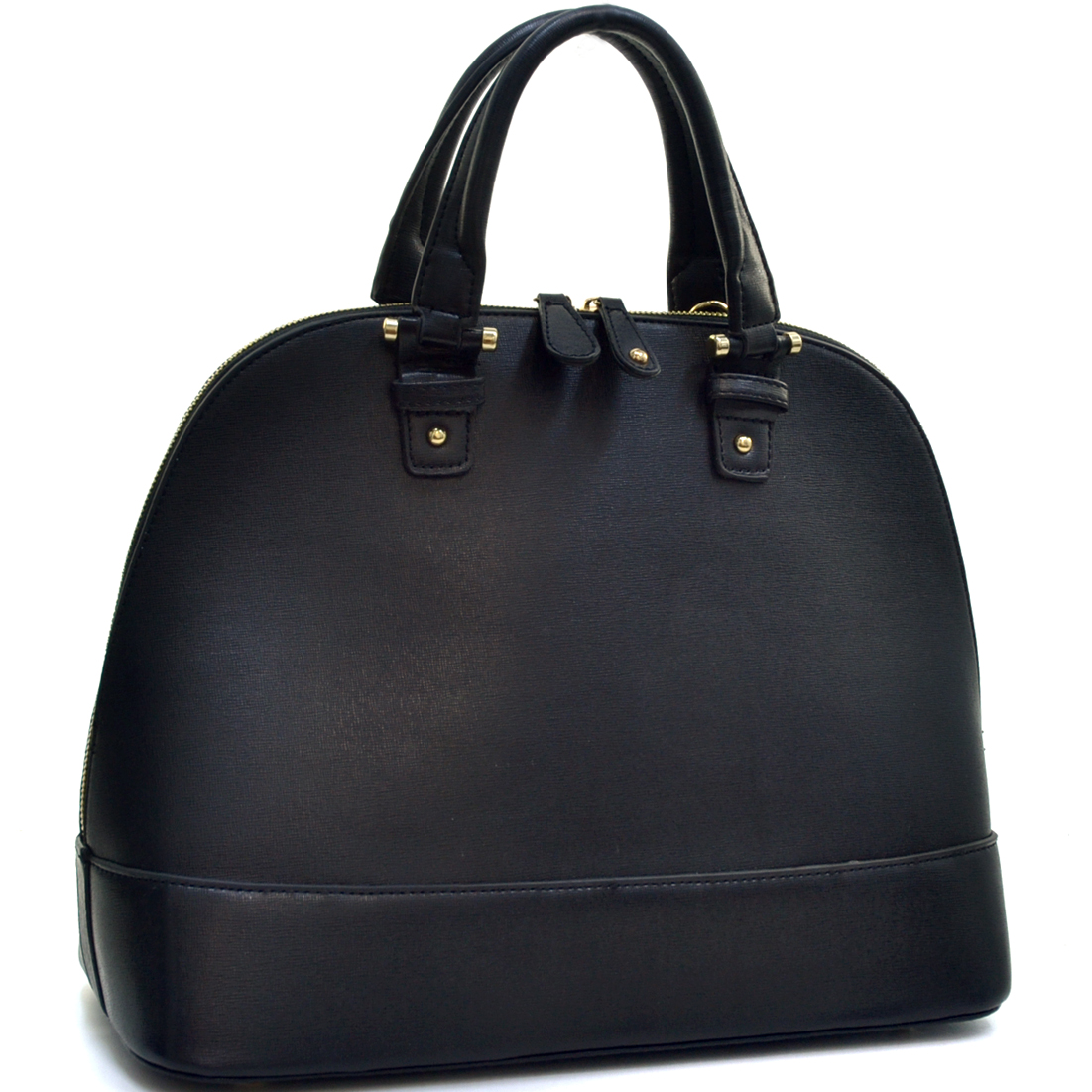 Fashlets Women Bags Leather Handbags Zip Around Flat Bottom Fashion Shoulder Bag at Sears.com