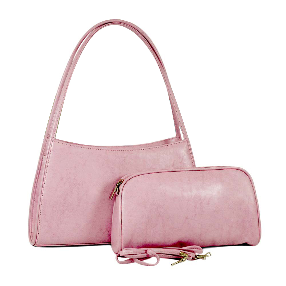 Dasein Vani Women Handbag Designer Inspired Classic Shoulder Bag with Bonus Cosmetic Bag at Sears.com