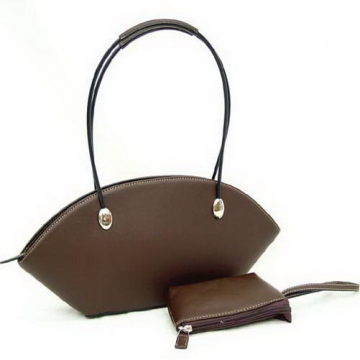 Shoulder bag with coin purse