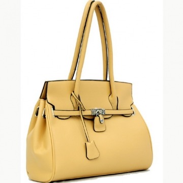 Soft leather like designer inspried shoulder bag