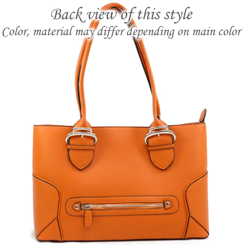 Soft leather like tote bag