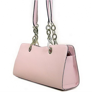 Soft leather like chain shoulder bag