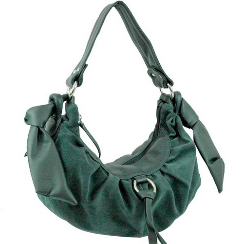 Faux Suede Hobo