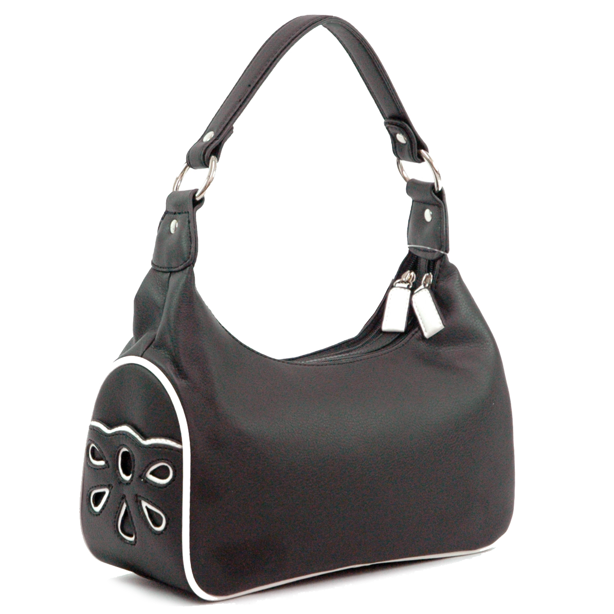 Hollow carved fashion handbag