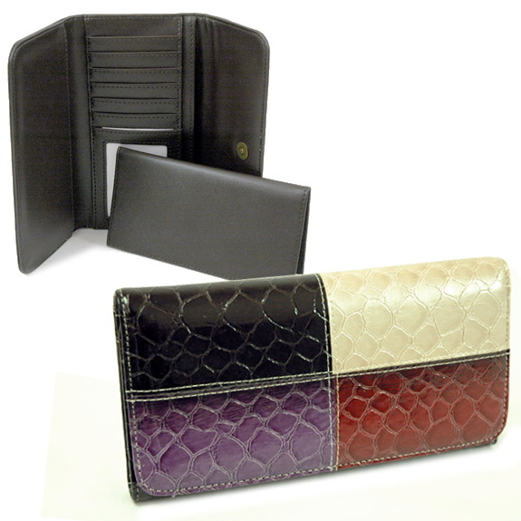 Dasein Esserpenti® 4-Color Folded Wallet