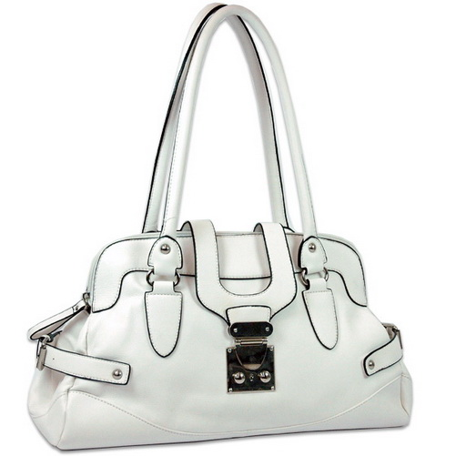Front flap with buckle fashion shoulder bag