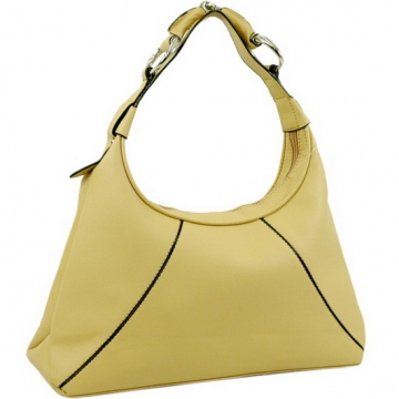 Dasein Designer Inspired Hobo Handbag-Tan