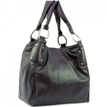 Dual shoulder straps hobo bag