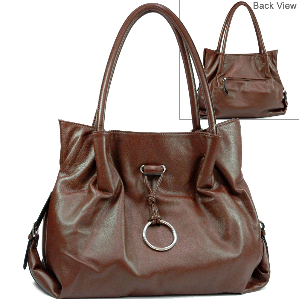 Soft Leather Like Shoulder Bag