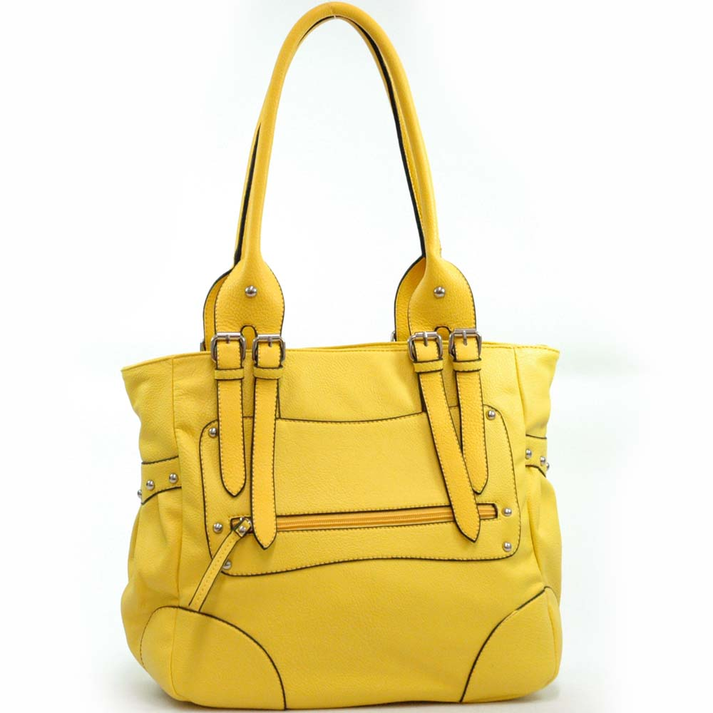 leather like tote bag