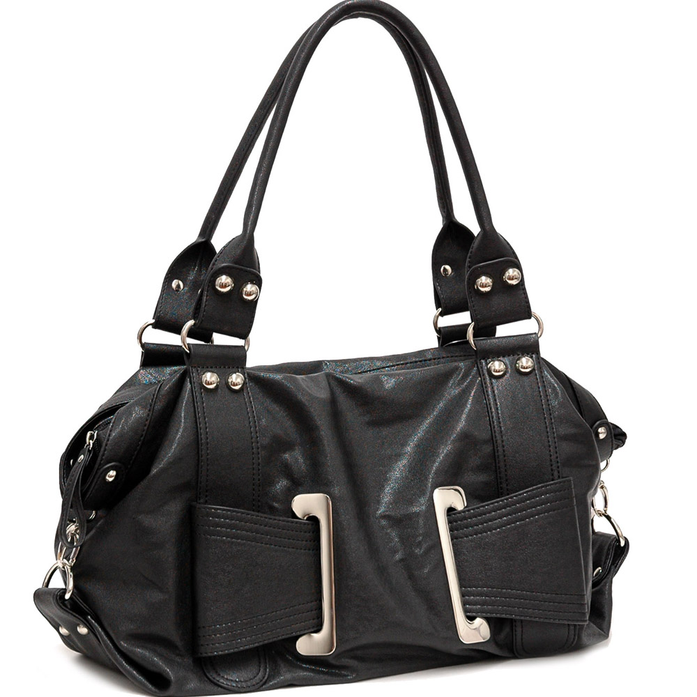 Dasein Transzendenz® Front Buckle Shoulder Bag