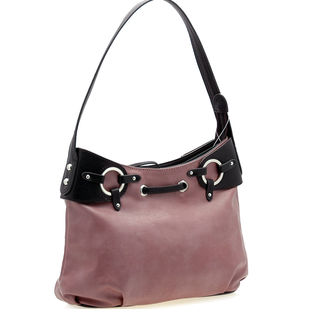 Dasein® Double Ring Shoulder Bag