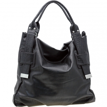 Fashion Tall Tote Carry-All Bag for women Black