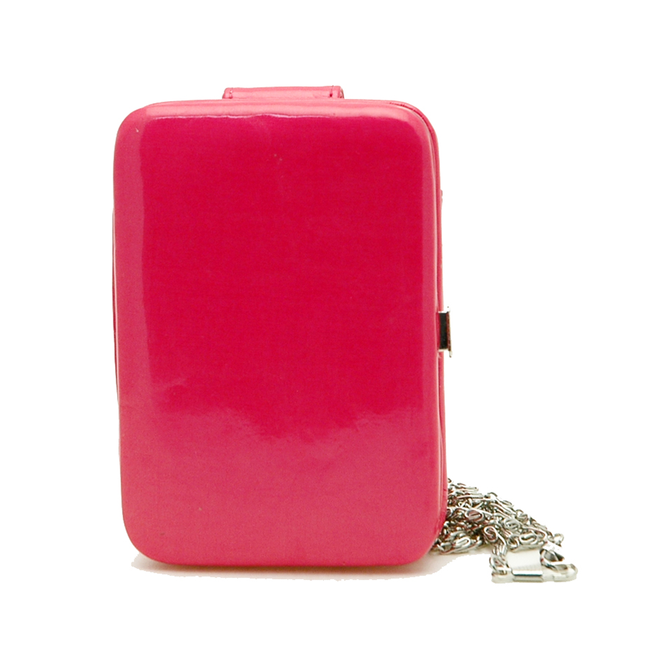 Cellphone IPhone Ipod case bag frame wallet pink