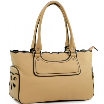 Classic Leather Like Fashion Tote