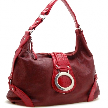 Front flap fashion hobo bag