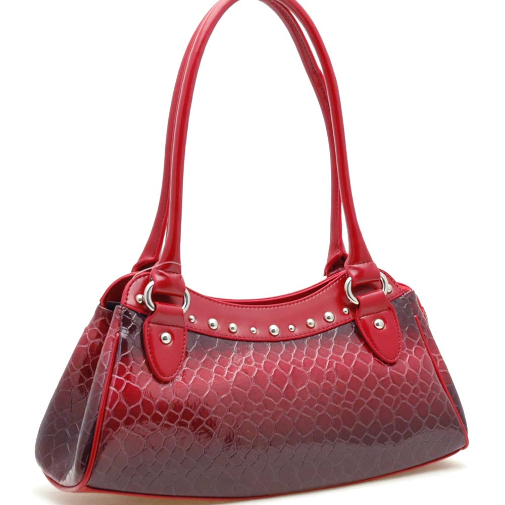 Dasein Esserpenti® Studded Rim Shoulder Bag