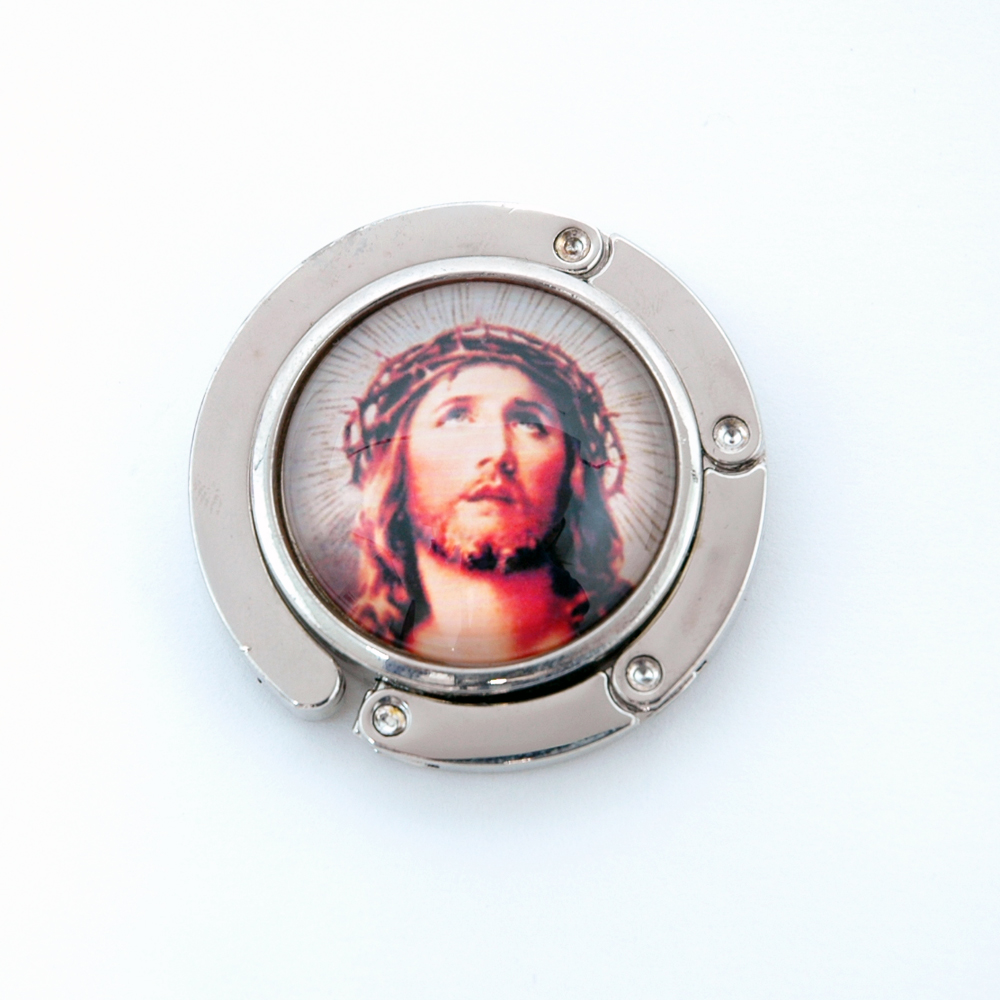 Dasein Jesus Christianity Foldable Purse Hanger