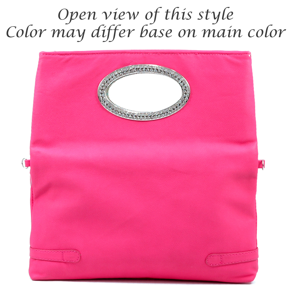 Ring Flap Fold-Over Clutch