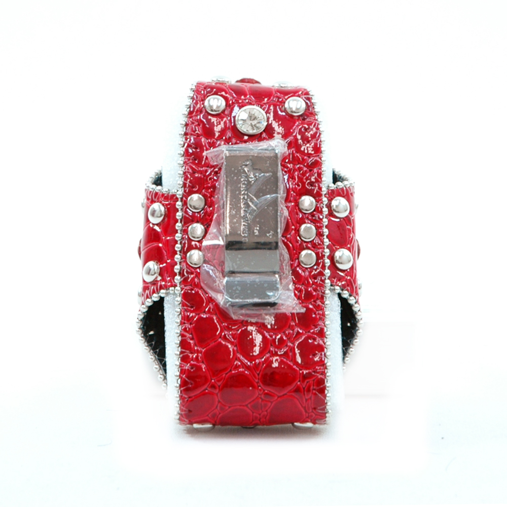 Montana West Cute Rhinestone Croco Cellphone / iPod / iPhone Holder / Wallet