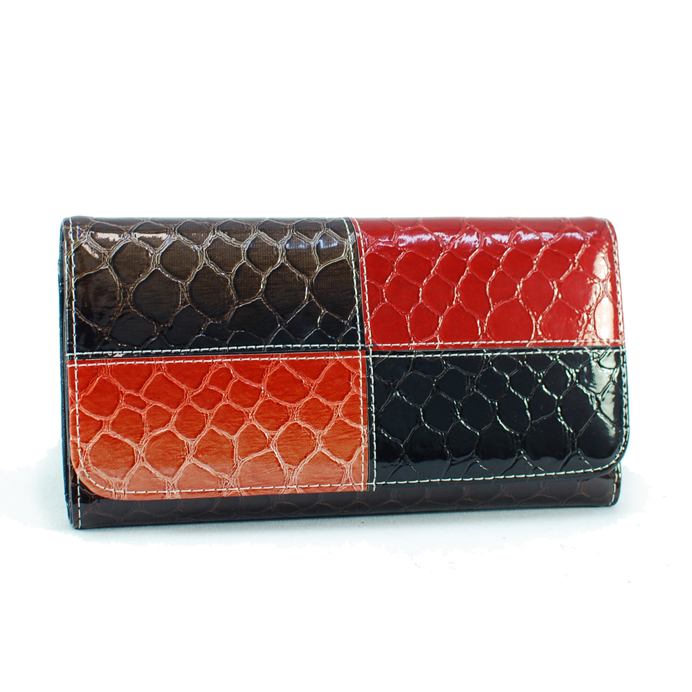 Dasein Esserpenti® Two Tone Folded Wallet