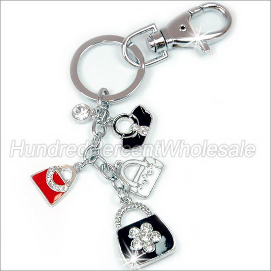 Dasein Purse Crystal / Diamond / Rhinestone Key Chain