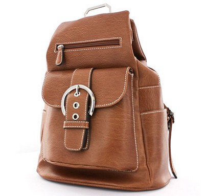 Buckle Accented Backpack
