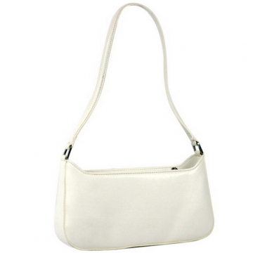 Designer Inspired Fine Textured Leather Like Petite Shoulder Bag