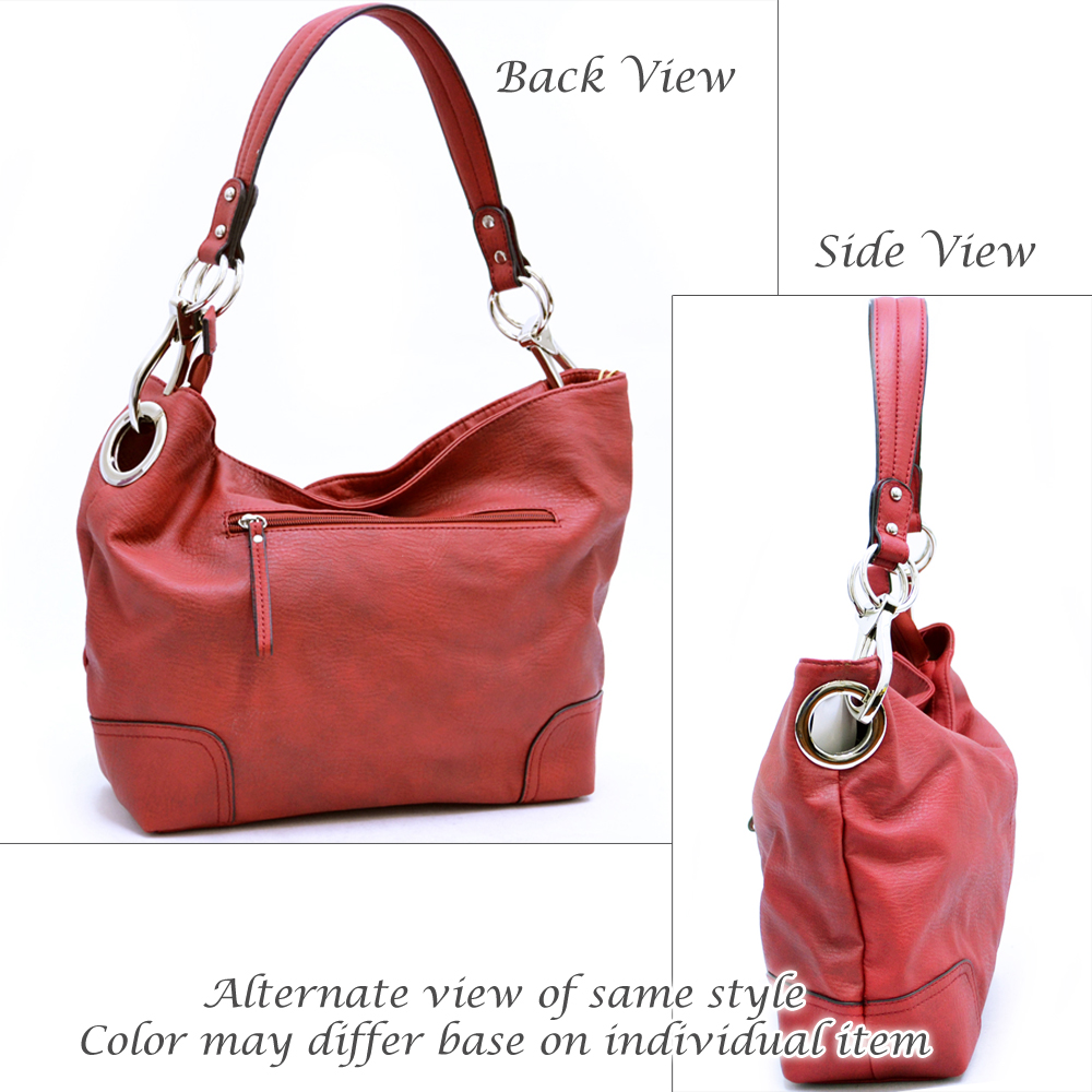 Tote bag with fashion handle