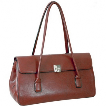 Designer Inspired Fine Textured Leather Look Like Shoulder Bag