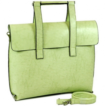 Vani Fashion Women's Designer Briefcase / Business Bag / Handbag-Lt. Green