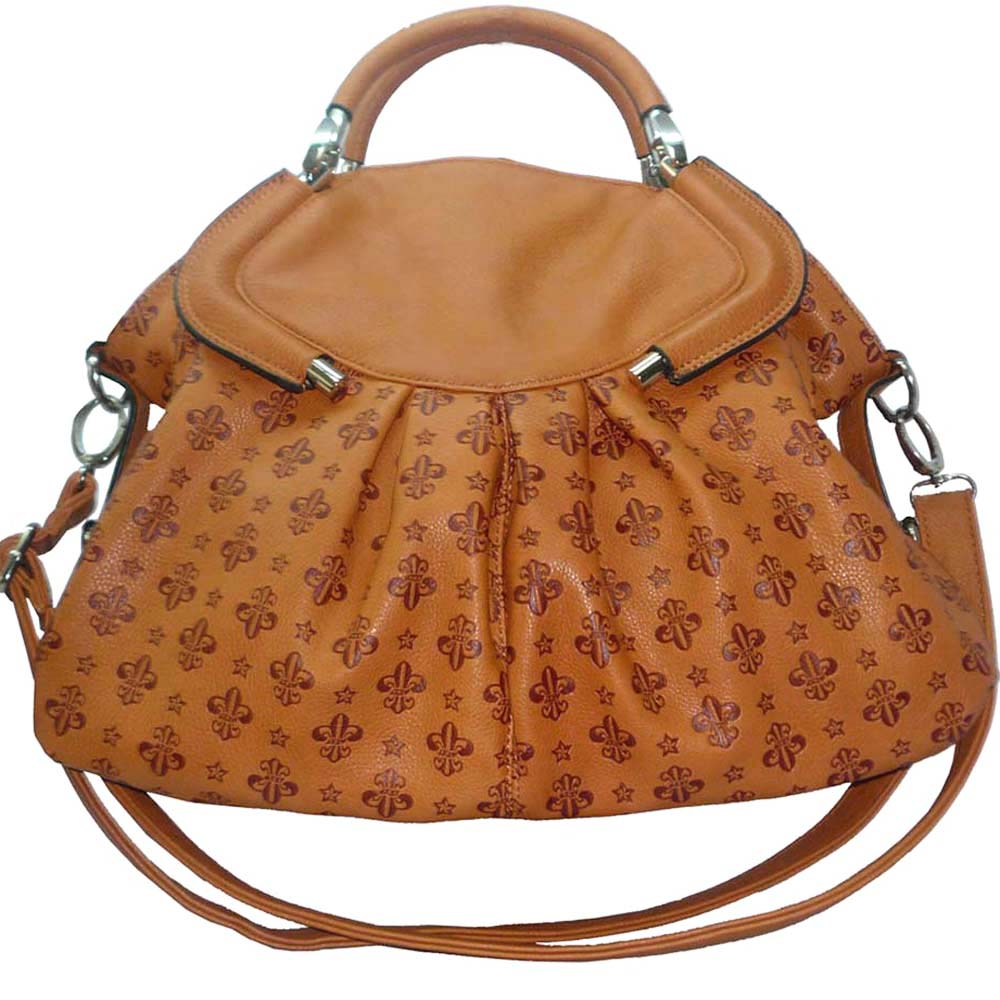 USTYLE New Fashion Handbag FDL Satchel Bags - brown