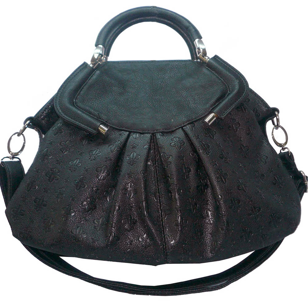 USTYLE New Fashion Handbag FDL Satchel Bags - black