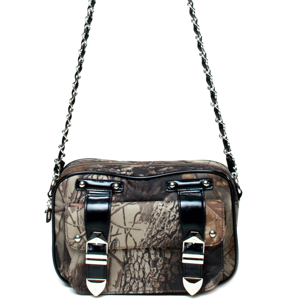 Realtree® Hardwoods HD Camo Chain Handle Crossbody