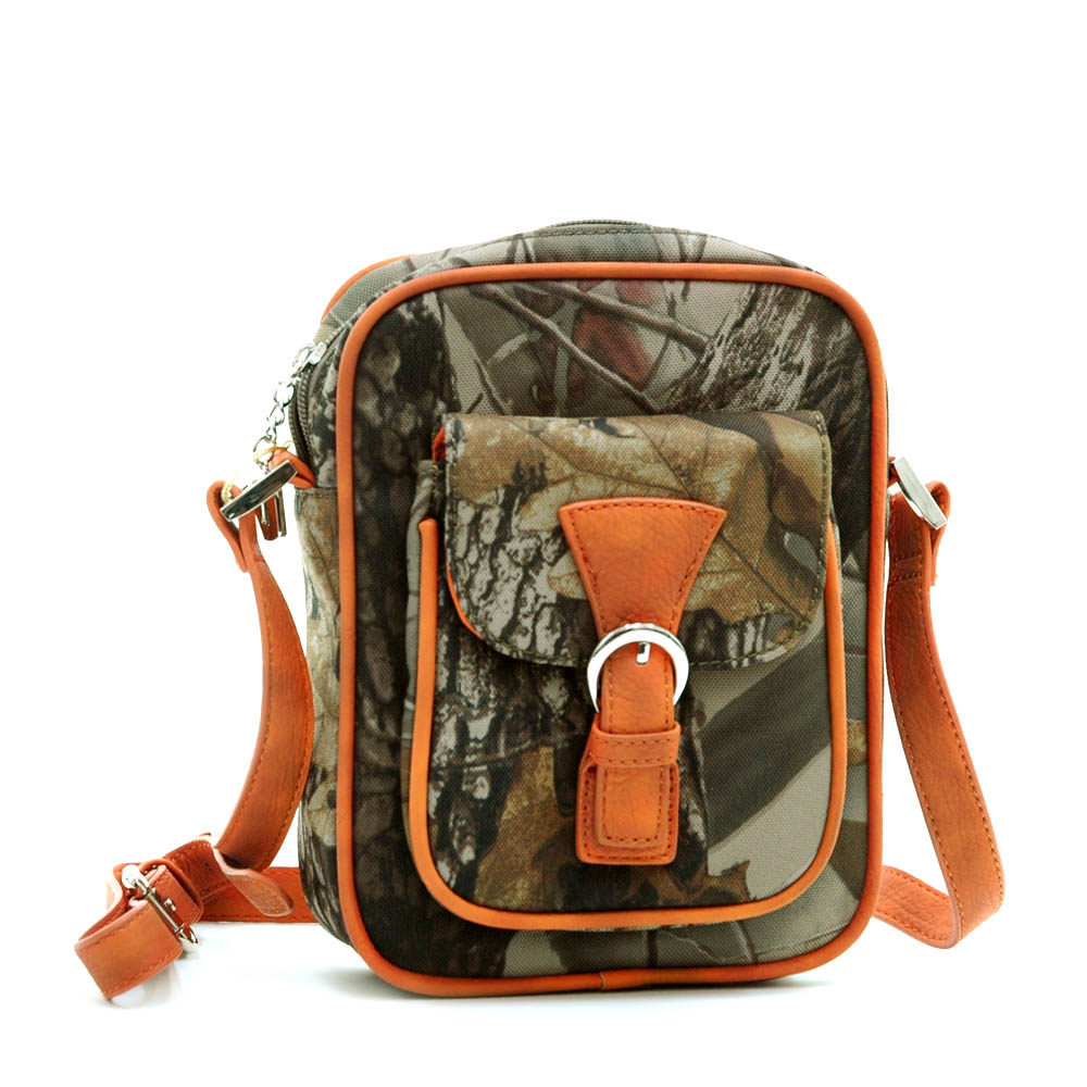 Realtree® Hardwoods HD Camo Front Buckle Crossbody