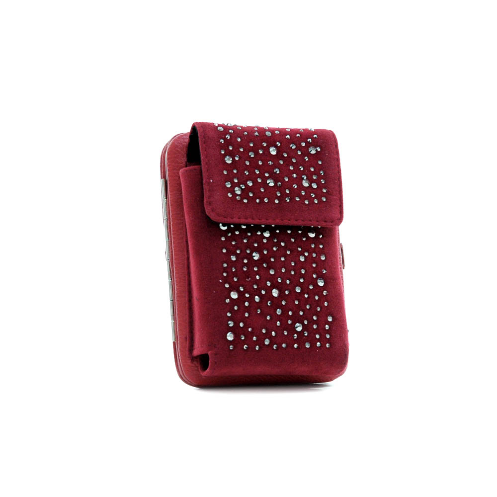 Cellphone holder/ phone case with frame wallet