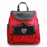 Designer inspired heart Backpack