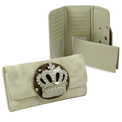 Rhinestone Crown Checkbook