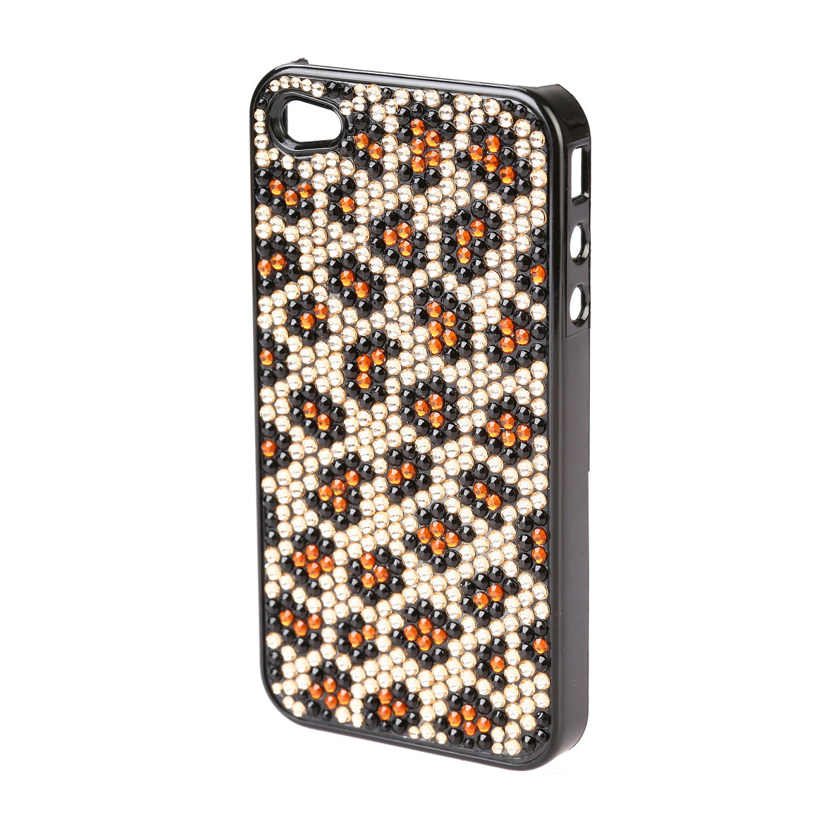 Rhinestone leopard pattern cell phone iPhone case/ cover