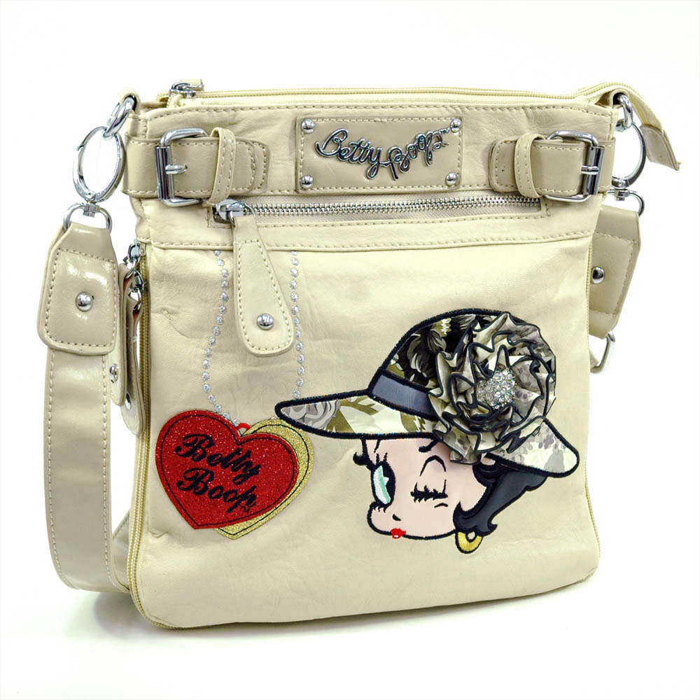 Betty Boop® Jazz Age Flapper Brooch Crossbody