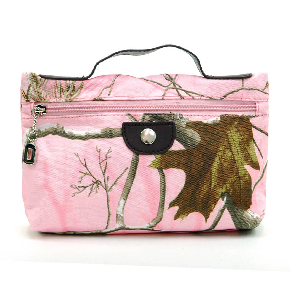 Realtree ® camouflage cosmetic tote bag