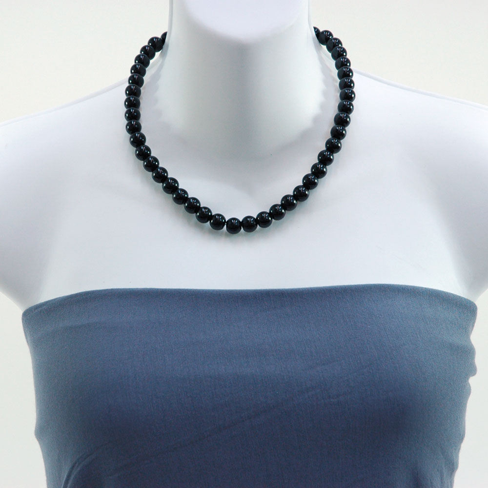 Fashion Pearl Necklace and Earrings Set (10mm)