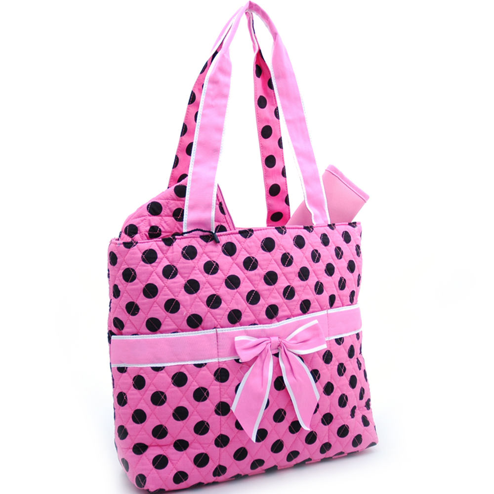Polka Babies 3Piece Diaper Tote