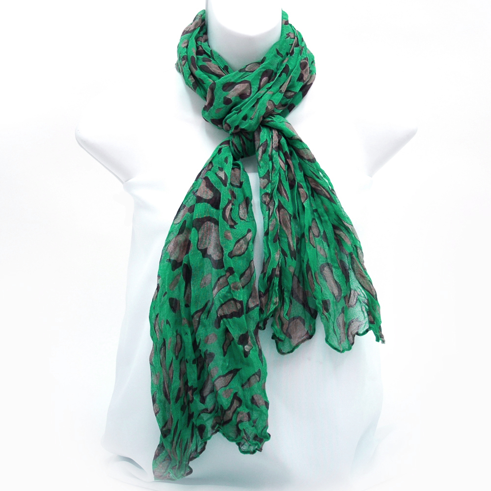 Leopard Print Fashion Scarf