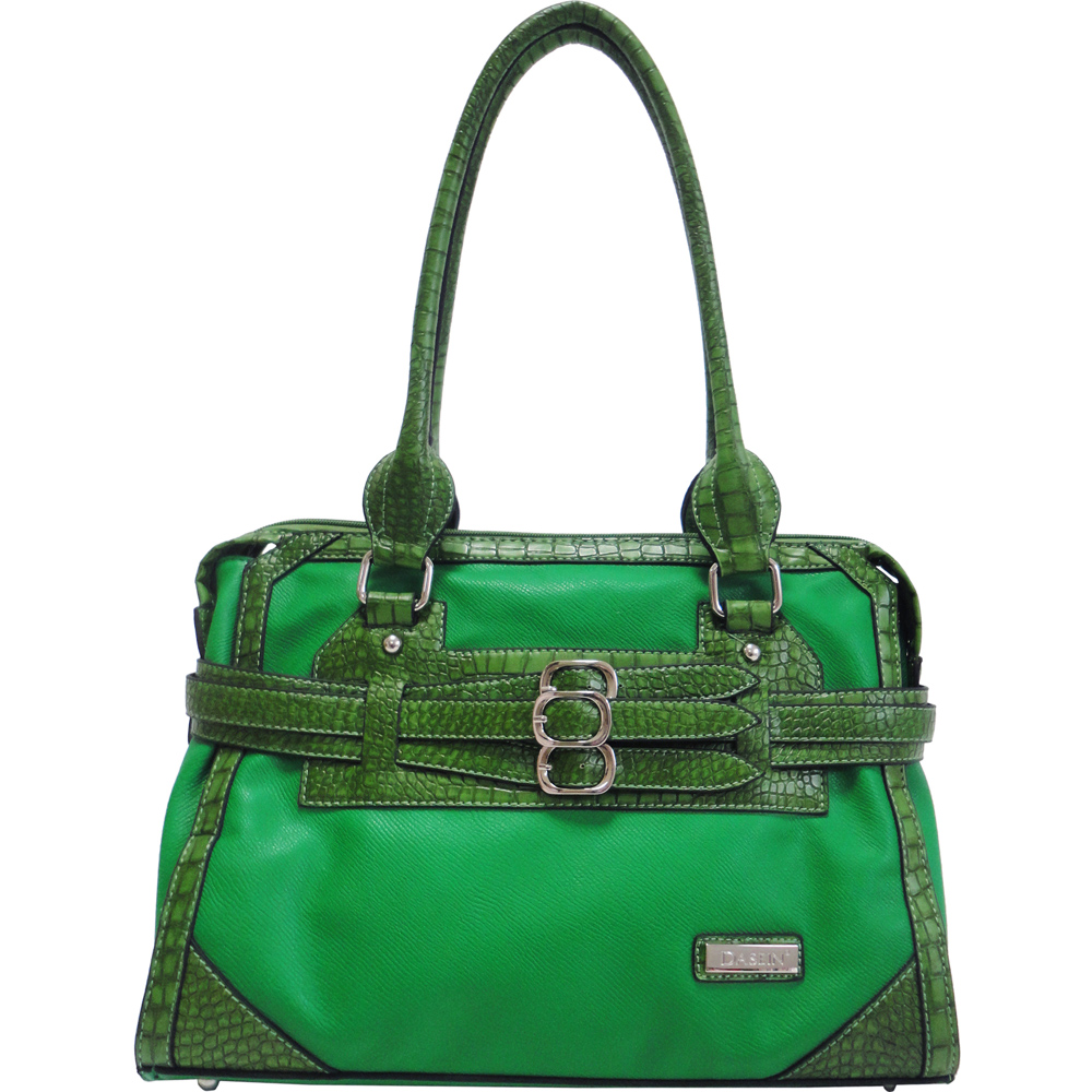 Dasein Belted Croco Tote