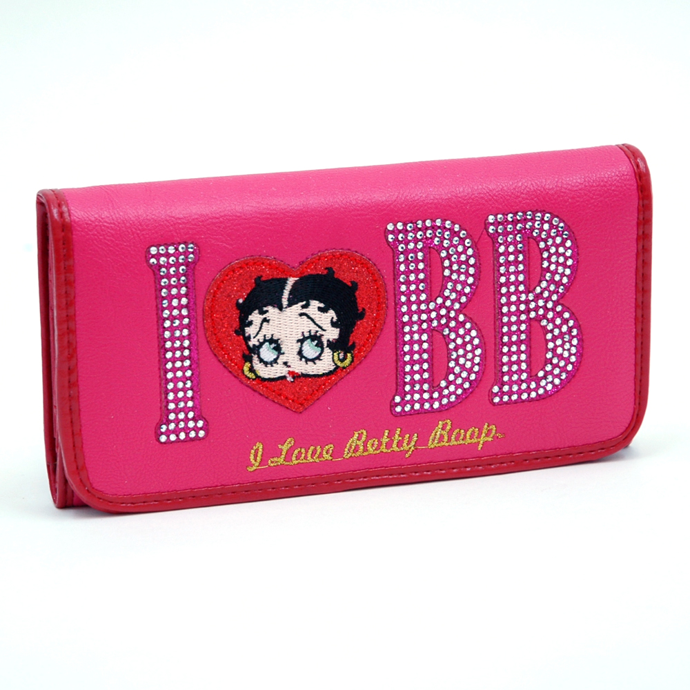I Love Betty Boop® Checkbook Wallet
