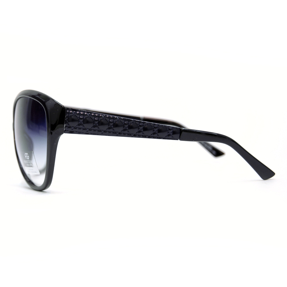 Anais Gvani ® Oversized Fashion Sunglasses with Quilt-like Texture Design on Side