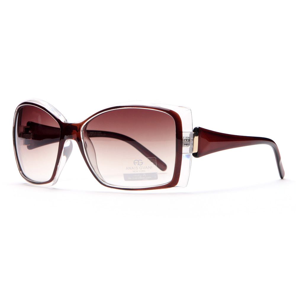 Anais Gvani ® Women's Classic Fashion Square Frame Sunglasses